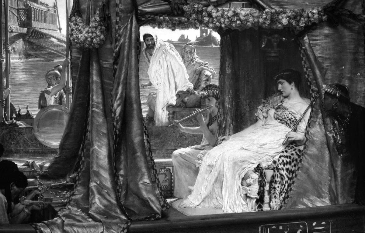 Cleopatra & Mark Antony'sTomb